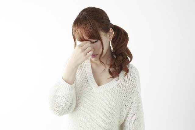 交通事故で目の後遺障害のイメージ
