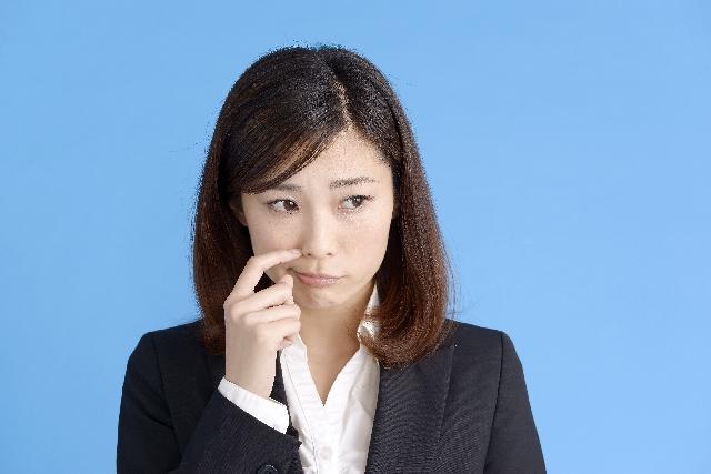 鼻の交通事故後遺障害のイメージ